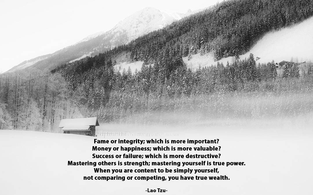 Embracing Wealth – Be Still