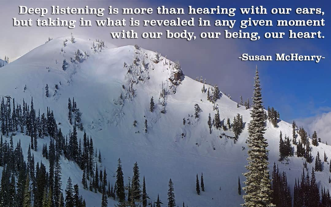 From Hearing to Deep Listening