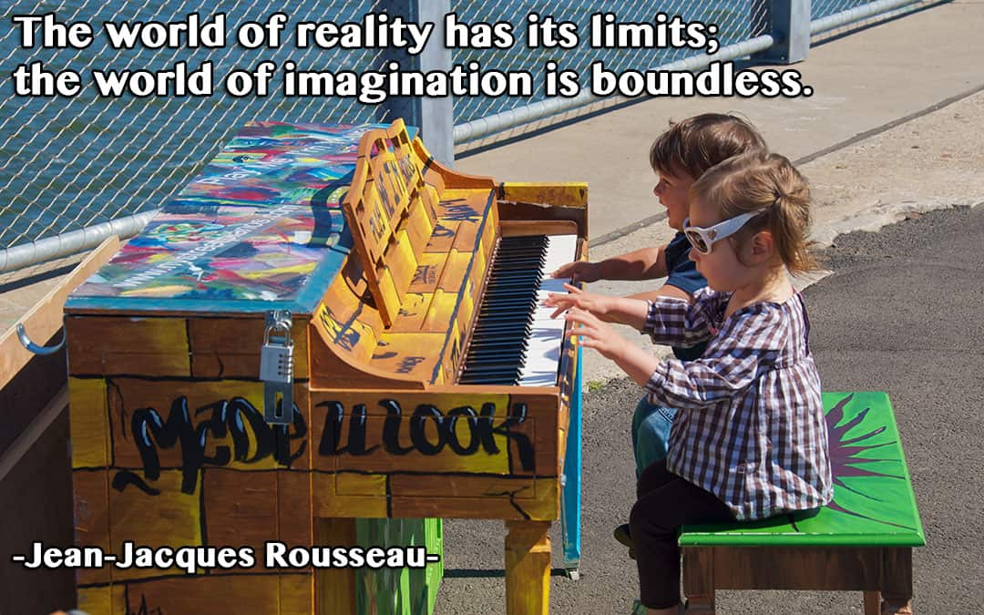 How Are You Exercising Your Imagination?