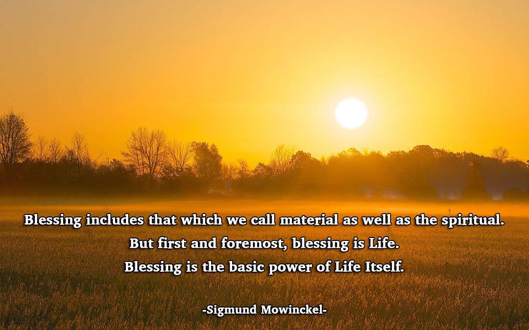 Befriending Blessing