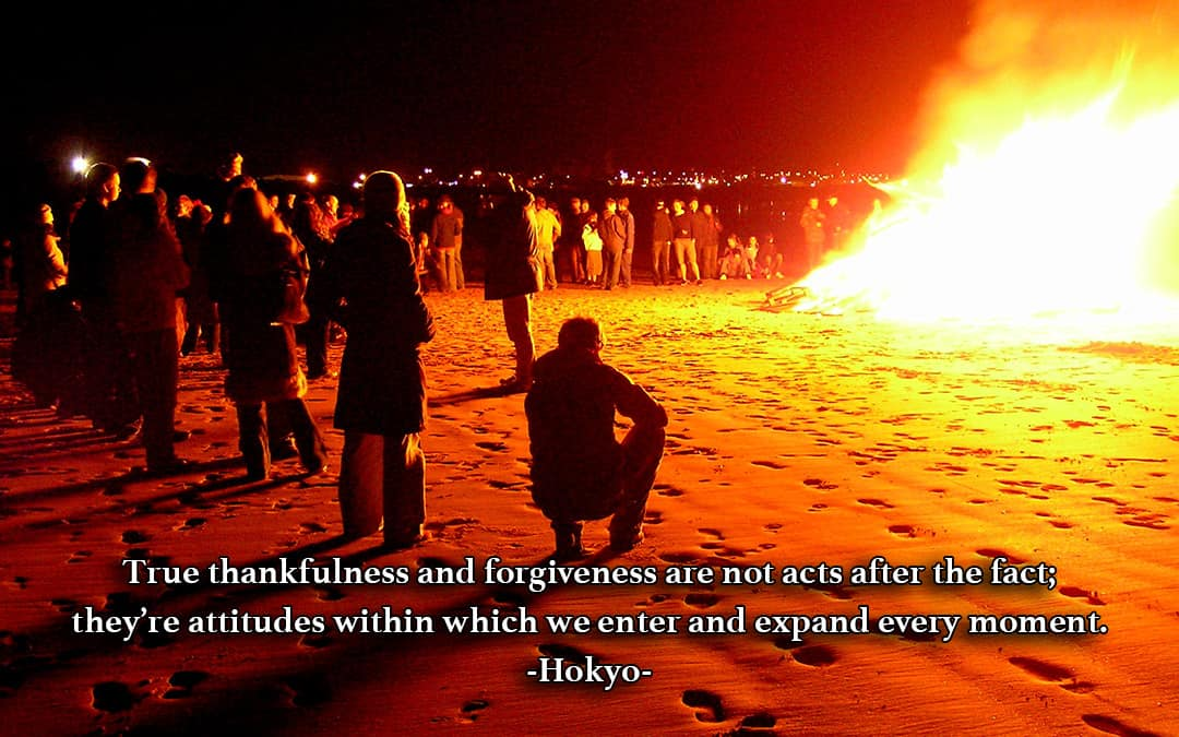 Thankfulness and Forgiveness