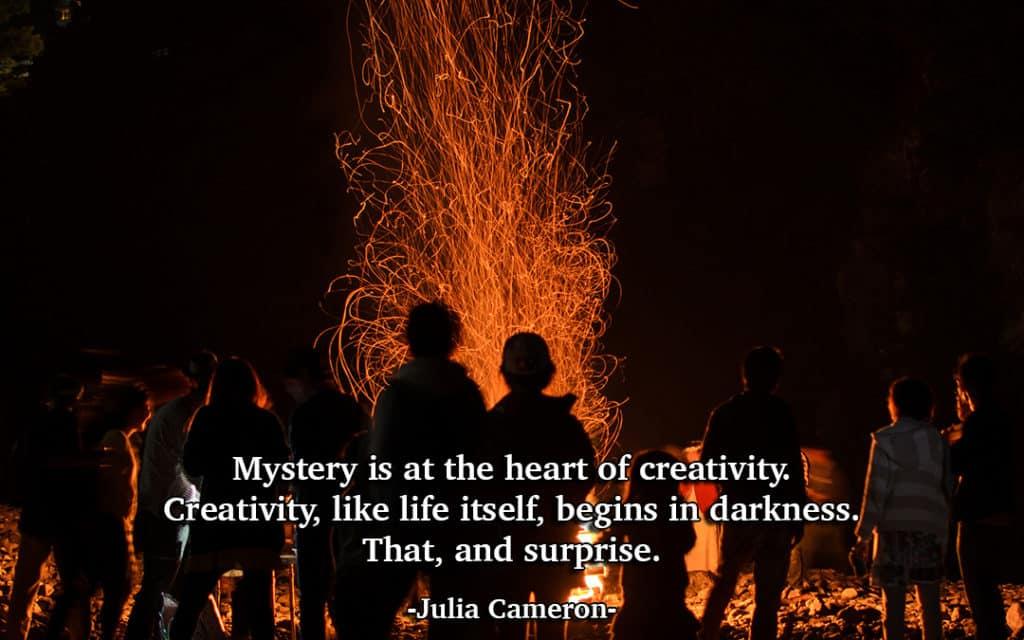 Mystery and Creativity