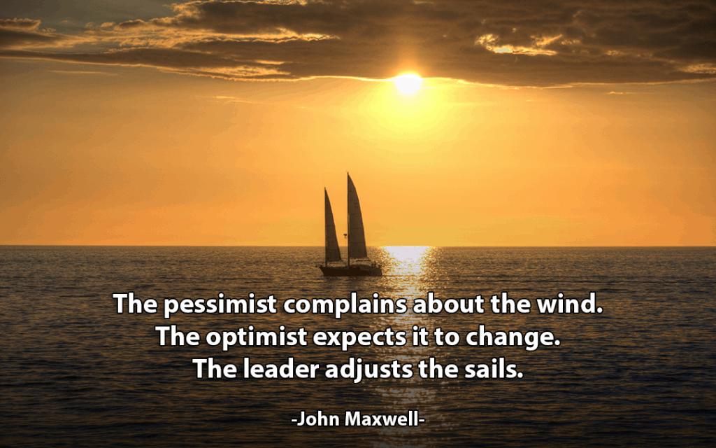 Adjusting Your Sails