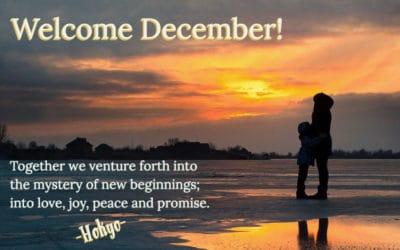 Welcome December!