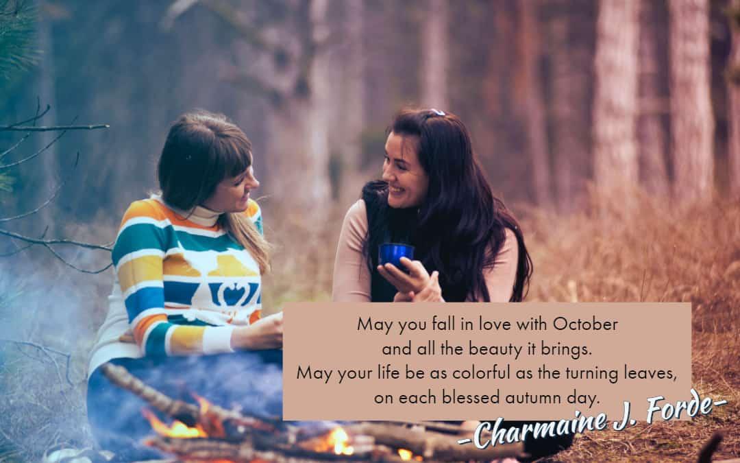 October Blessing