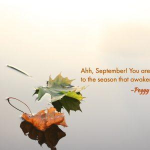 Ahh, September!